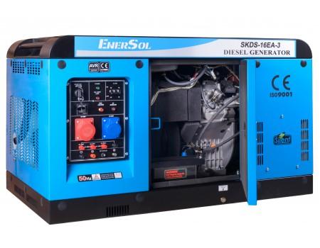 Дизельный генератор EnerSol SKDS-16E-3В