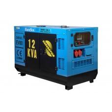 Дизельный генератор EnerSol SKDS-12E-3В
